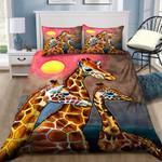 Three Cute Giraffes Painting NI0701130YD Bedding Set