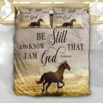 Running Horse Be Still YP2503013YG Bedding Set