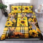 Chihuahua Yellow Tartan NI0303024YT Bedding Set