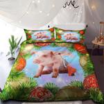 Angel Pig Merry Christmas NI0901004YD Bedding Set