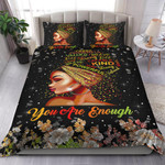 You Are Enough Tough Powerful Valued Brave Bold Strong Bold YP1705009XE Bedding Set
