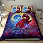 Dragon You And Me We Got This NI1304002YM Bedding Set