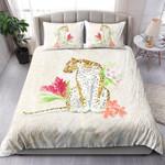 Cheetah With Flowers NI1803010YT Bedding Set