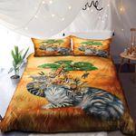 Cat In Safari Hat NI3001099YD Bedding Set
