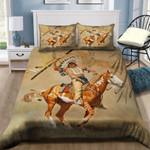 A Man Riding Horse NI0302031YD Bedding Set