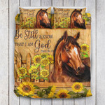Sunflower Horse Be Still YP1204003YE Bedding Set