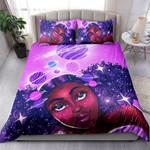 Galaxy Black Girl NI0503008YT Bedding Set