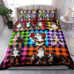 Bernese Mountain Dog Plaid NI0303011YT Bedding Set