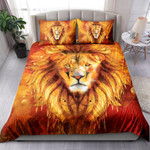 Realistic Modern Oil Painting Of Lion NI1003009YT Bedding Set