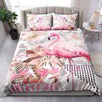 Triangles Flamingo NI1003011YT Bedding Set