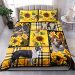 Border Collie Yellow Tartan NI0303012YT Bedding Set