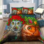 Lovely Owl Couple NI2603039YD Bedding Set