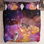 Cats Pizza And Galaxy Gs Cl Ml2310 Bedding Set
