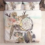 Antlers Feathers Dreamcatcher Native American Gs Cl Nt0611 Bedding Set