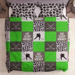 Eat Sleep Hockey Neon Green Yw2901255Cl