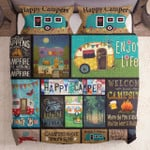 Happy Campers Gs Cl Nc0707 Bedding Set