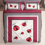 Red Black Polka Dot Ladybug Cla2110417B
