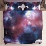 3D Moon And Galaxy Gs Cl Ml2510 Bedding Set