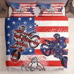 Motocross Usa Flag Prints Yw0402327Cl