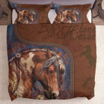 Love Horses Leather Pattern Ld2512073Cl