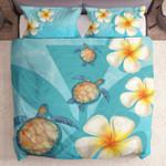 Hawaii Turtle Kanaka Plumeria Ocean Yw2402090Cl