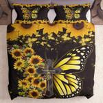 Faith Jesus Christ Butterfly Sunflower Kl2509057Cl