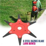 6BLADE™: STEEL RAZOR BLADE LAWN MOWER