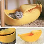 BANANA CAT BED HOUSE