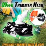 BREAK-PROOF ROUNDED EDGE WEED TRIMMER BLADE