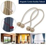 Deluxe™: Magnetic Curtain Buckles Tieback