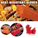 HEAT- RESISTANT GLOVE - FEEL YOUR GRILL IN TIME