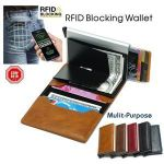 RFID Blocking Vintage Business Wallet