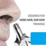 Safe Touch Stainless Steel Nose Hair Trimmer