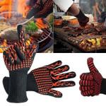 BBQ Gloves Extreme Heat Resistant 932°F(500°C) BBQ Gloves Extreme Heat Resistant 932°F(500°C) Default Title
