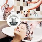 New Stainless Steel Hair Catcher Stopper Bathtub Shower Strainer Tub