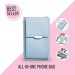 IVY™: All-In-One Crossbody Phone Bag IVY™: All-In-One Crossbody Phone Bag BLUE