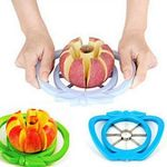 Kitchen Apple Slicer Corer Cutter Pear Fruit Divider Tool Comfort Handle for  Kitchen Apple Peeler  Fast Shipping default Kitchen Apple Slicer Corer Cutter Pear Fruit Divider Tool Comfort Handle for  Kitchen Apple Peeler  Fast Shipping Default Title
