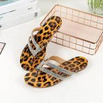 Leopard casual fashion beach sandals