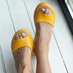 "OBVIERâ""¢ Women fashion footbed peep toe slip on sandals"