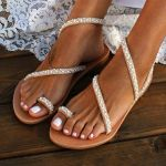 Handmade Beach Pearl Sandals - 50%OFF