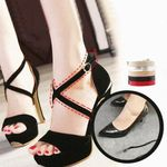 Anti-Slip Cross-Section High Heel Shoe Straps Bands