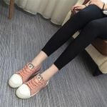 Women Cat Trainers Shoes Lace-up Leisure Spring Summer