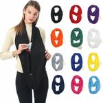 OBVIER™ INFINITY SCARF WITH HIDDEN POCKET