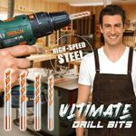 SPEEDSTEEL™ Ultimate Drill Bits