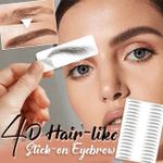 "Insta-Eyebrowsâ""¢ 4D Eyebrow Tattoo Stickers"