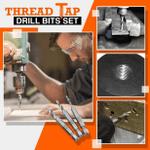 OBVIER™ 3/6 Pcs Thread Tap Drill Bits Set