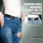 OBVIER™  Buckle-free Invisible Elastic Waist Belts