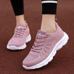 Breathable soft sole casual sports women's shoes