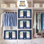 LANER™ Oxford Cloth Steel Frame Storage Foldable Box【BUY 2 FREE SHIPPING】