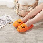 CREEX™ Halloween Soft Plush Pumpkin Free Size Slippers【BUY 2 FREE SHIPPING】